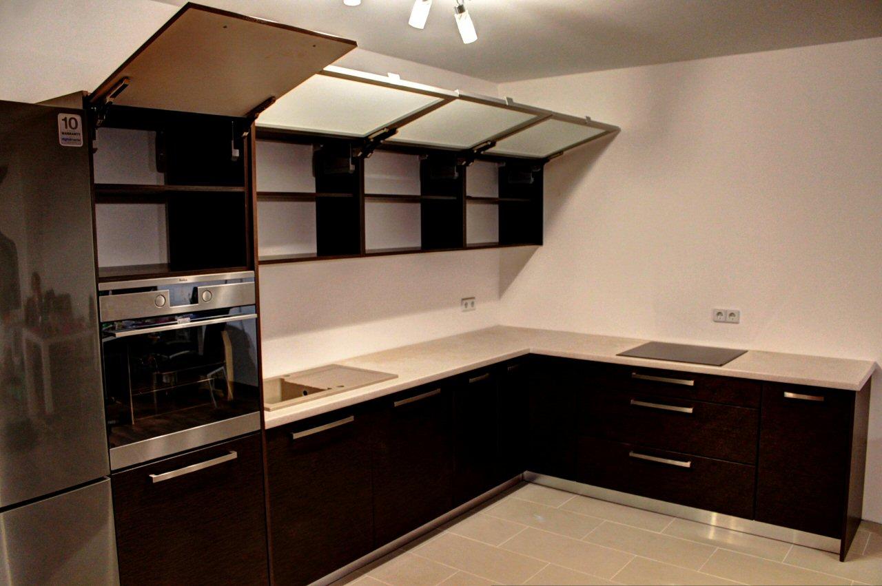 Meble Uliasz  kuchnie i szafy na wymiar -> Kuchnia Wenge Wanilia Zdjecia
